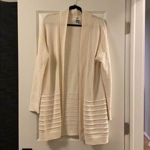 NWOT Open front sweater